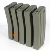 Beta-Project 30 rds Magpul mags for M4 series OD (5 pcs@box)
