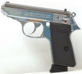 Airsoft Gun PPK (007) GBB Pistol Silver