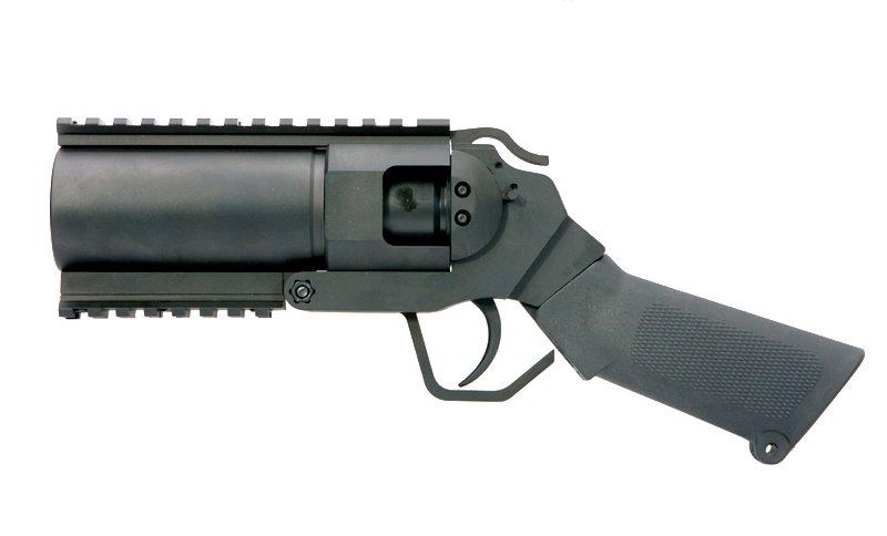 Airsoft grenade launcher pistol