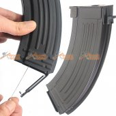 CYMA Metal 600rd Flash Wire-Winding (String) Magazine for AK Series Airsoft AEG