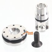 ACTION Aluminum Cylinder Bulb/Piston Set for Marui/WE/KJ HI-CAPA/M1911A1/P226 GBB