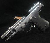 Tokyo Marui M92FS Chrome Stainless GBB Pistol