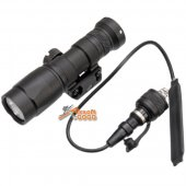 Building Fire M300 Tactical Scout flashlight Black