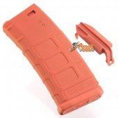 MAGPUL PTS 120rd PMAG M Version Mid-Cap Magazine Orange