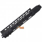 9 inch Key Mod Rail Handguard Kit w/ Anti-Slip Rope for Marui G&P Airsoft M4 M16 AEG