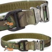 TMC Army Style Combat Velcro BELT Quick Release Assault - MC -Size: L