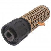 Army Force 5 Inch QDC CQC Silencer with Flash Hider CCW 14mm CB