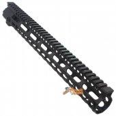 M4 Limited Ver 15 inch Extreme Light 270g MI Style Key Mod Rail for Marui Std ICS Airsoft AEG