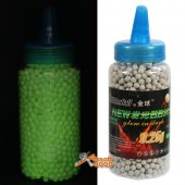 GoldenBall 0.25g Airsoft Tracer BBs 2000rd Bottle