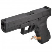 WE G17 Gas Blow Back Pistol (Black)