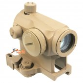 AABB T1 Red Dot Scope with QD Mount ( Sand )