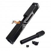 BELL Custom Slide A Type for Marui G17 GBB (2 Tone & Black Barrel)
