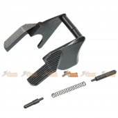 KF Airsoft Steel Thumb Safety Selector for Tokyo Marui, WE Hi-Capa 5.1 GBB