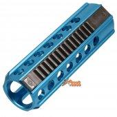 Army Force CNC Full Steel 14 Teeth Type Aluminum Piston (Blue)