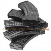 MAG AK74 100rd Mid-Cap Magazine for Airsoft AK AEG (Plum, 5pcs)