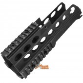 Army Force Metal RAS Handguard for G36C AEG (Black)
