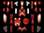 Iron Man MK7 Wearable Armour Finished Version