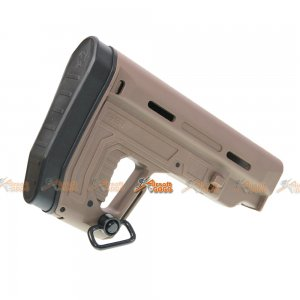 A.P.S. RS1 Collapsible Stock for APS Airsoft AEG (TAN)