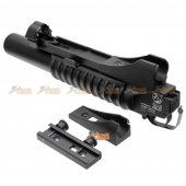E&C MP046A Metal M203 Granade Launcher For M4/M16 Series (Long Type)