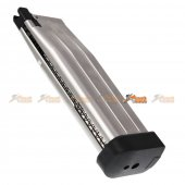 AW Custom 30rds HXMG06 5.1 Gas Magazine for Airsoft GBB (Silver)