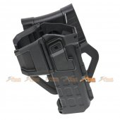 Army Force Polymer Hard Case Movable Holsters for Marui, WE 1911 Airsoft (Black)