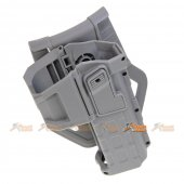 Army Force Polymer Hard Case Movable Holsters for Marui, WE 1911 Airsoft (Grey)