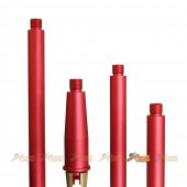 Tokyo Arms Multi-Length CNC Metal Outer Barrel for Marui M4 MWS GBB (CCW, Red)