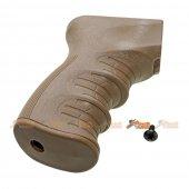 A.P.S. Ergonomic Pistol Grip for APS AEK AK AEG (Dark Earth)