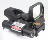 33mm Green Red Dot Sight + Red Laser
