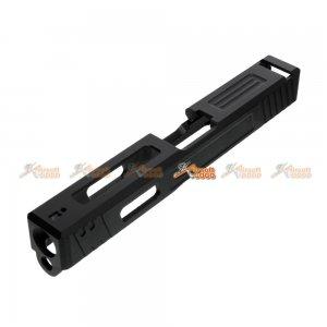 APS CNC Aluminum Metal LEGACY Slide for Marui APS 17 Series (Black)