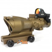 4x32C ACO Scope with Doctor Red Dot Sight (New Type / TAN)