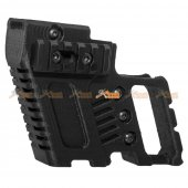 SLONG 3DAM 3D Printing G-KRISS Tactics Component for WE Marui , Army G17 / G18 Series Airsoft GBB (Black)