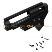 E&C Metal Ver.2 Gearbox Shell with 8mm bearing for Marui / CYMA / G&P / JG / CA Airsoft AEG (Black)