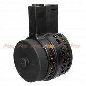 1000rds Drum Magazine for M4 / M16 Airsoft AEG (Black)