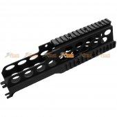 CNC Aluminium Alloy 270mm RAS Handguard for JingGong / Classic Army / Marui G36 G36K G36V SL8 SL9  Airsoft AEG (Black)