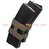 80rd Metal Double Magazine for WE M4 Airsoft GBBR (Black)