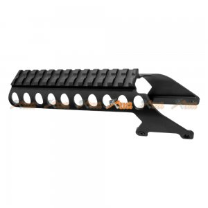 Short Type Receiver Rail for Airsoft G&P M870 Metal Body