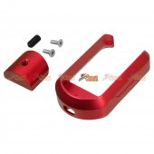 5KU Aluminum Magwell for Marui G17/G18C Airsoft GBB (Red)