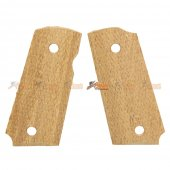 Wood Grip Cover for Tokyo Marui Detonics.45 Airsoft GBB