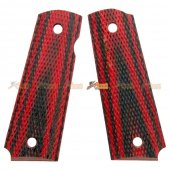 Wood Grip Cover for Tokyo Marui 1911 Airsoft GBB (No.0261)
