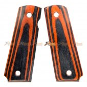 Wood Grip Cover for Tokyo Marui 1911 Airsoft GBB (No.0270)