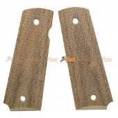 Wood Grip Cover for Tokyo Marui 1911 Airsoft GBB (No.0317)