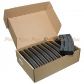 Elite Force M4/M16 140rd Mid Capacity AEG Magazine (10 Pack/Black)