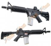 APS M4 CQB Electric Blowback Rifle (ASR102)