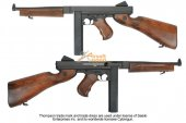 King Arms Thompson M1A1 Military Airsoft AEG