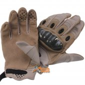 Assault Gloves (Brown Colour) for Airsoft -M size
