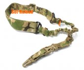 Elastic Bungee CQB 1 Point Rifle Sling MultiCamo