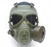 Big Dragon M04 Dummy Gas Mask w/ Ventilating Fan (Army Green)