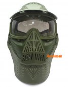 Scott Type Full Face Mask (Lens Version, Army Green)