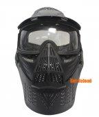 Scott Type Full Face Mask (Lens Version, BK)